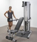 Vectra VFT-100 Functional Trainer w/Bench 160lbs. (Demo Model)